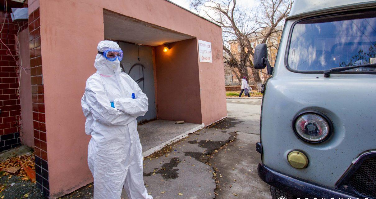 В госпитале Коркино лечение проходят 162 человека, заболевших коронавирусом
